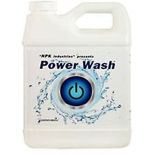 NPK Industries Power Wash Plant Cleaner Rid Built Up Residue From Foliar Sprays