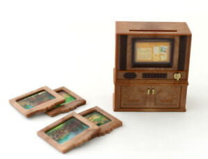 Sylvanian Families TELEVISION (TV) SET FOR LIVING ROOM Epoch Calico Critters
