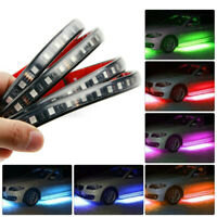 4X Phone App Control RGB LED Underglow Body Neon Light Kit Under Car Tube Strip