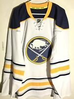 Reebok Authentic NHL Jersey Buffalo Sabres Team White sz 52