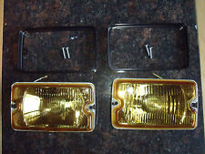 Peugeot 205 GTI driving lights lamps NEW YELLOW CLEAR Mi16 DIMMA fog d turbo SX