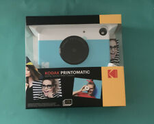 NEW Kodak PRINTOMATIC-Megapixel Digital Instant Print Camera Blue