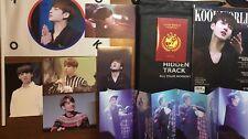 BTS Jungkook Fansite Photobook+Magazine+postcard+folded Pc+flag+passport Bangtan