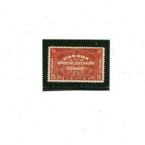 CANADA SPECIAL DELIVERY Stamp # E5  MVLH  (1) F-VF 1933 issue  20 cents
