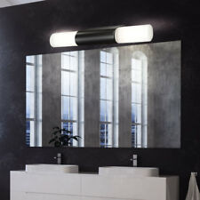 Led Wall Spotlight Lamp Black Guest Room Bath Lighting Glass Lamp White