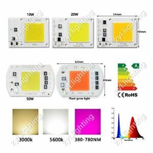 LED chip COB 10w 20w 30w 50w flood light Full spectrum lamp plant bulb 110V 220V