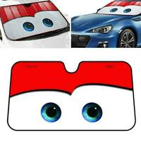 Kreative Karikatur Auto Windschutzscheibe Sonnenschutz mit Saugnäpfen P1B9