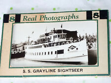 Old 8 Real Miniature Photographs RPPC Seattle Washington WA Grayline SIghtseer