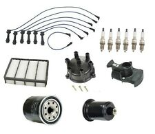 For Lexus SC300 92 95-97 Ignition Tune Up Kit Filter Cap Rotor Denso Spark Plugs