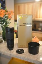 Nikon Nikkor 200-500mm f/5.6 ED IF M/A SIC SWM VR Lens w/ UV Filter and WARRANTY