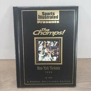 1996 New York Yankees SPORTS ILLUSTRATED PRESENTS THE CHAMPS book # 12731