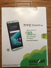 Cricket Wireless HTC DESIRE 550 NEW UNLIMITED TALK TEXT DATA NO ANNUAL CONTRACT