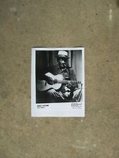 TEXAS SONGSTER BLUES PHOTO: MANCE LIPSCOMB #2 Arhoolie Records 8½ x 11 b&w
