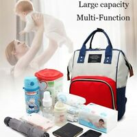 Mummy Diaper BagMaternity Baby Nappy Changing Bag Large USB Backpack Travel