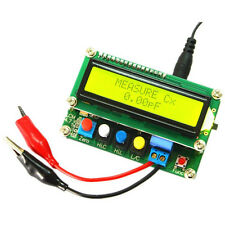 Digital LCD Inductance Capacitance TESTER LC Meter Frequency 1pF-100mF 1uH-100H