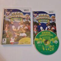 Wii Sega Superstars Tennis (Nintendo Wii, 2008) Complete