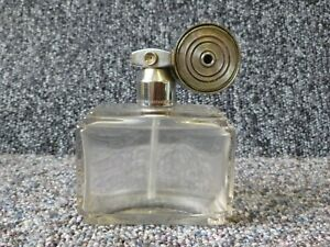 Art Deco Perfume Bottle & Atomizer Marcel & Franck Made In France Brevete SGDG