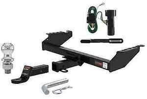 Curt Class 3 Trailer Hitch Tow Package for Ford Bronco/F-150/F-250/F-350