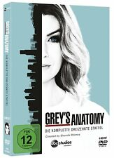 GREY'S GREYS ANATOMY DIE KOMPLETTE STAFFEL 13 DVD DEUTSCH