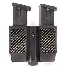 BLACKHAWK! Carbon Fiber Double Stack Magazine Case Fits 9, 10 mm .40 Cal, .45