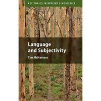 Language Subjectivity Key Topics Applied Linguistics Tim McNam… 9781108475488 VG
