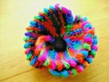 Knitted *Rainbow Bridge* Brooch Pin - Handmade - Pet Loss - Unique Gift FREEPOST