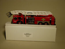 SUNOCO 1995 AERIAL TOWER FIRE TRUCK 2nd ANNIVERSARY TRUCK GOLD EDITION MIB