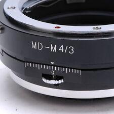 Pour m4/3 Olympus e-p1 e-p2 e-pl1 Panasonic gh2 gf2 Minolta MD objektivpc Adaptateur