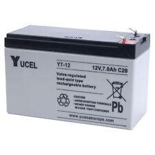 Batterie Onduleur12v 7ah Y7-12fr Yucel 151x65x100mm Flamme RETARDANT