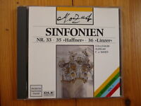 Mozart Sinfonien  33,35 (HAFFNER) & 36 (LINZER) COLLEGIUM AUREUM  F.J. Maier