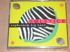 BOITIER 2 CD RARE / SOLSTICE / EUPHONIUM BIG BAND / NEUF SOUS CELLO