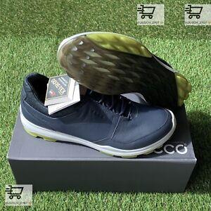 Ecco Biom Hybrid 3 H3 GTX GORE TEX Blue Golf Shoe Sneaker ⛳️ EU 43 US 9 .5