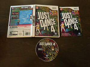 Just Dance 4 (Nintendo Wii) [Complete In Box]