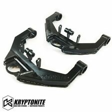 Kryptonite Stage 2 Upper Control Arms Dual Shock Mounts 2001-2010 Chevy GMC HD