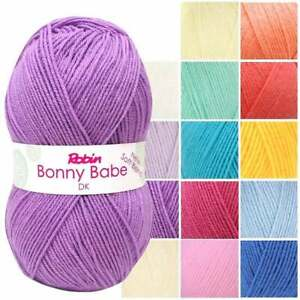 Robin Bonny Babe 100g DK - Quality Branded Baby Soft Knitting Yarn - All Shades