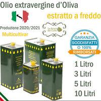 Olio Extravergine Di Oliva BIO estratto a freddo 20/21 Soddisfatti o Rimborsato
