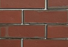 Clay Thin Brick Veneer Classic Red Flash Color!