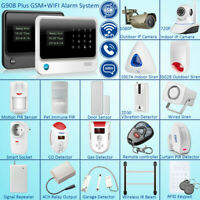 G90B Plus WiFi GSM SMS Wireless Home Alarm Security System Accessories Lot