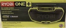 RYOBI 18-Volt ONE+ Hybrid Stereo with Bluetooth Wireless Technology - P746