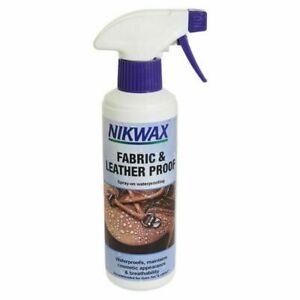Nikwax Fabric & Leatherproof spray on waterproofing for footwear 300ml
