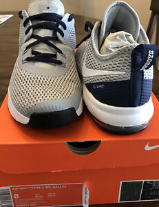 *Brand New* Nike Air Max Typha 2 NFL DALLAS COWBOYS Wolf Grey Shoes Mens Size-8