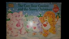 Happy House~*Care Bear Cousins and the Snowy Christmas Book*~Vintage