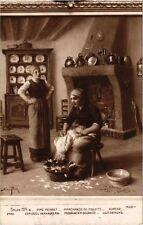 CPA Salon 1914 AIMÉ PERRET - Marchande de Poulets (217833)