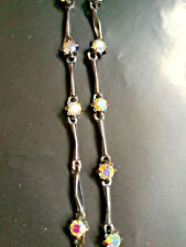 Bead Necklace perfect for occasions Amazingly Beautiful Crystal and Hematite