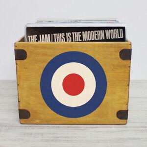 "The Jam Target Record Box 65 Album Crate 12"" Vintage Vinyl"