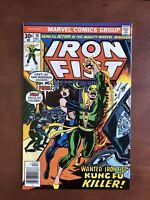 Iron Fist #10 (1976) 8.0 VF Marvel Bronze Age Comic Book Newsstand Edition