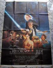 4sh Star Wars Episode VI  Return RITORNO DELLO JEDI Guerre stellari Italy 1983