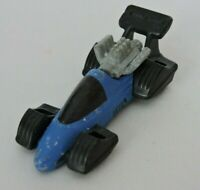 Hot Wheels Mattel Vintage Toy Car Diecast Blue Black 1993 Race Car KH