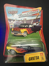 Disney Pixar Cars Greta #81 Race O Rama RaceORama