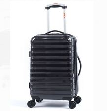 "iFLY Hard Sided Fibertech Carry On Luggage travel 20"" rolling new"